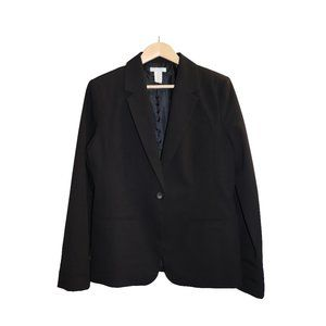 Pure Alfred Sung Black Career Blazer Jacket